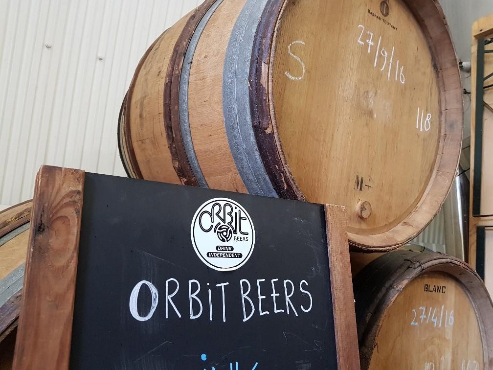 Pint Sized: Visiting Orbit Beers