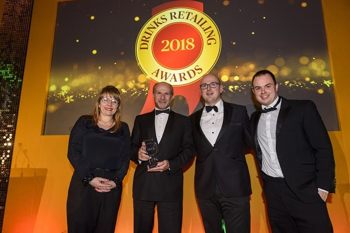 Jeroboams Win Small Chain of the Year at Drinks Retailing Awards 2018