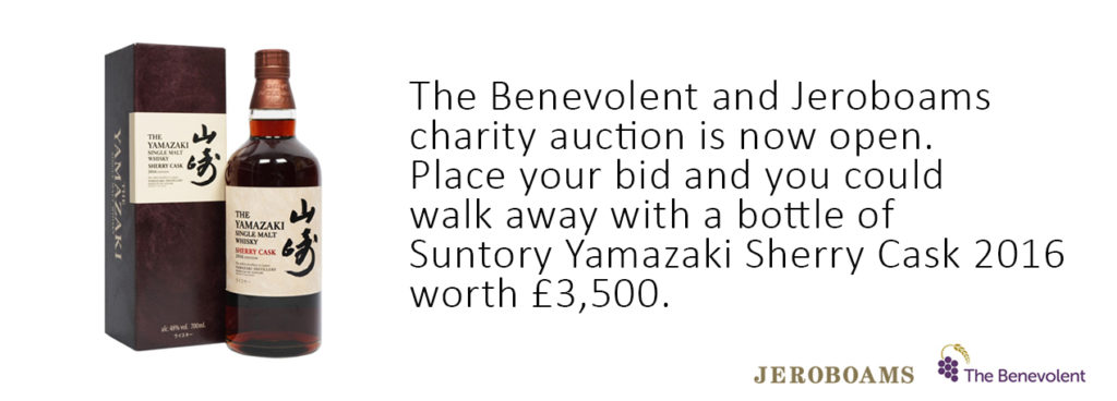 The Benevolent and Jeroboams Charity Auction