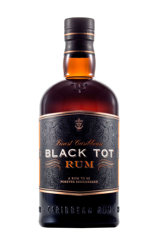 Black Tot Finest Caribbean Rum, 46.2% ABV (70CL)